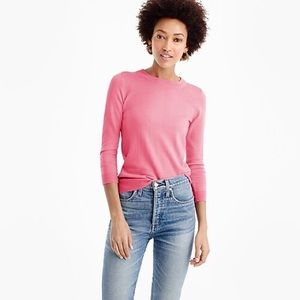 Pink J.Crew classic Tippi Sweater /Med/